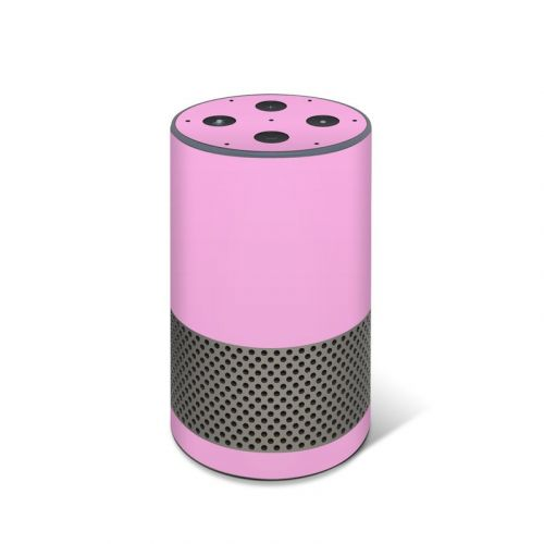 Solid State Pink Amazon Echo 2nd Gen Skin