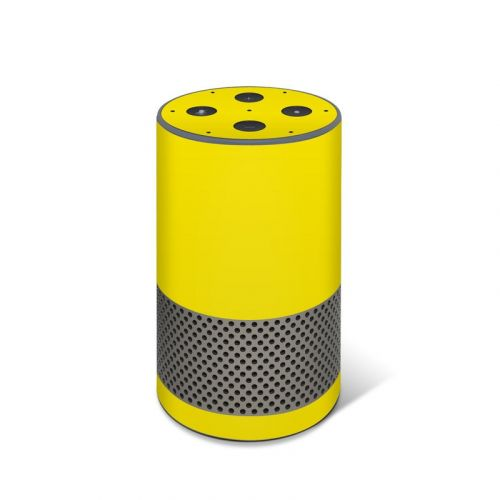 Solid State Yellow Amazon Echo 2nd Gen Skin