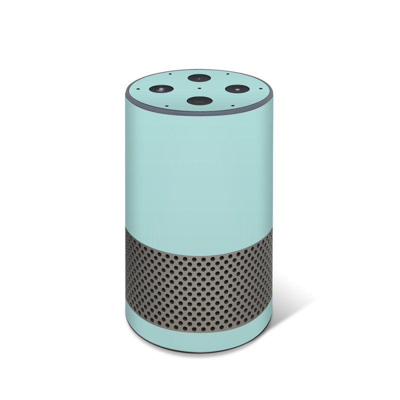 Solid State Mint Amazon Echo 2nd Gen Skin