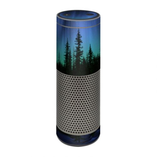 Aurora Amazon Echo Plus Skin