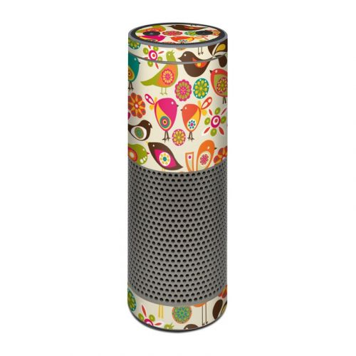 Bird Flowers Amazon Echo Plus 1st Gen Skin