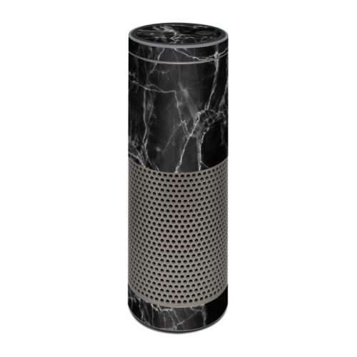 Black Marble Amazon Echo Plus Skin