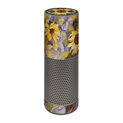 Sunflower Amazon Echo Plus Skin