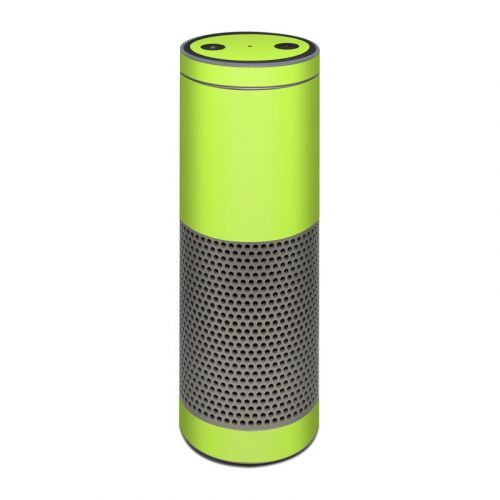 Solid State Lime Amazon Echo Plus Skin