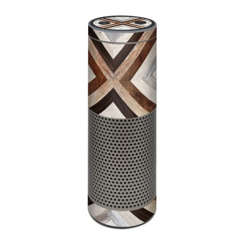 Timber Amazon Echo Plus Skin