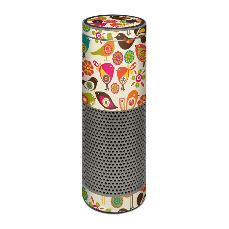 Bird Flowers Amazon Echo Plus Skin