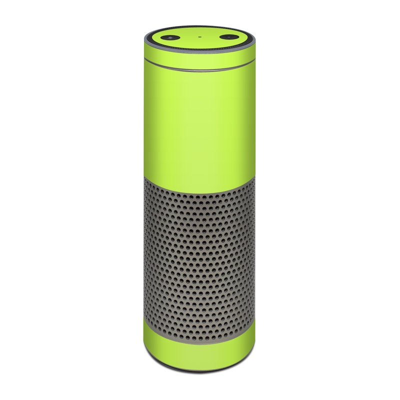 Solid State Lime Amazon Echo Plus 1st Gen Skin
