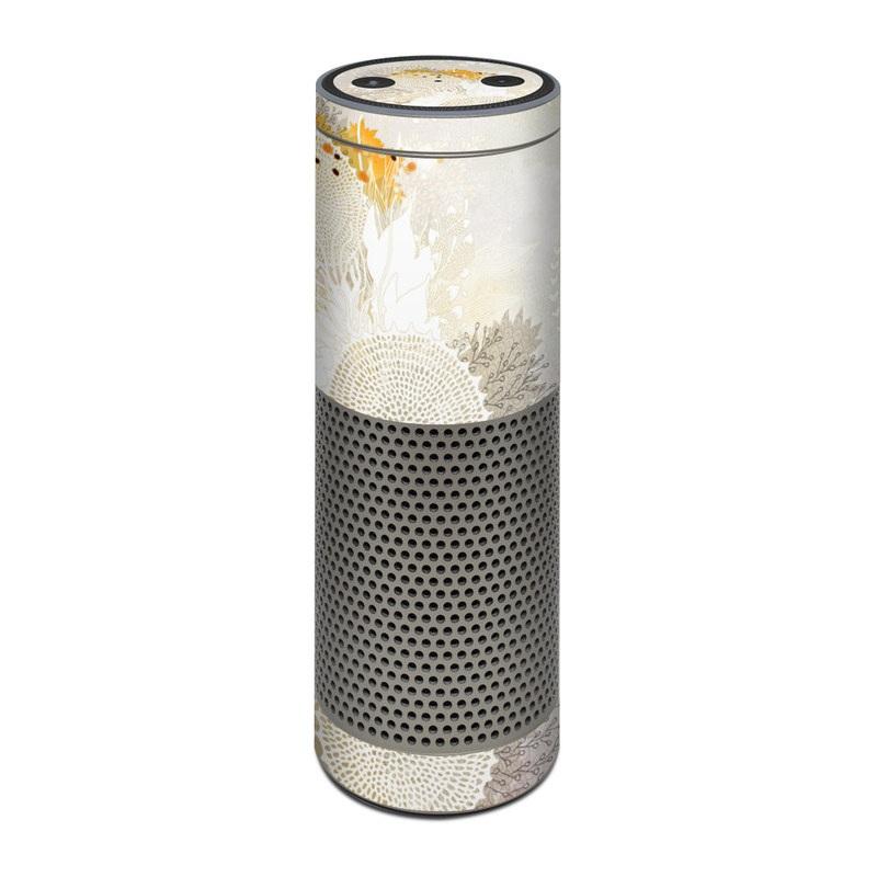 White Velvet Amazon Echo Plus Skin