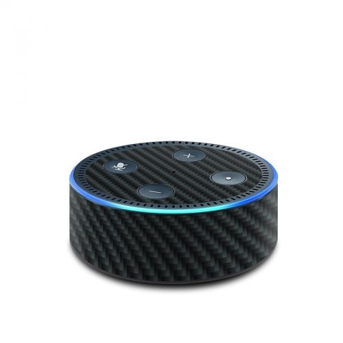 Carbon Amazon Echo Dot 2nd Gen Skin