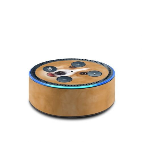 Corgi Amazon Echo Dot 2nd Gen Skin