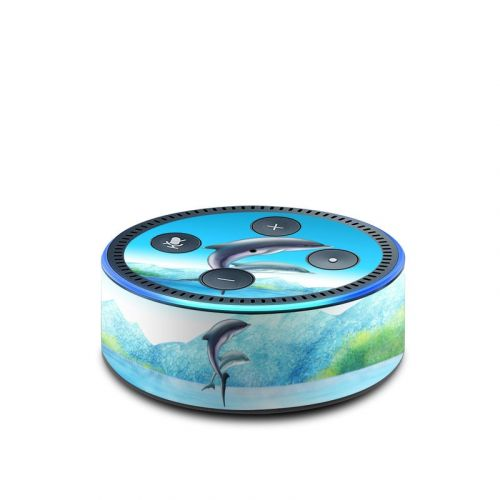 Dolphins Amazon Echo Dot 2nd Gen Skin
