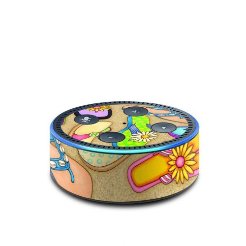 Flip Flops Amazon Echo Dot 2nd Gen Skin
