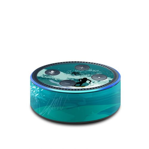 Hit The Waves Amazon Echo Dot 2nd Gen Skin