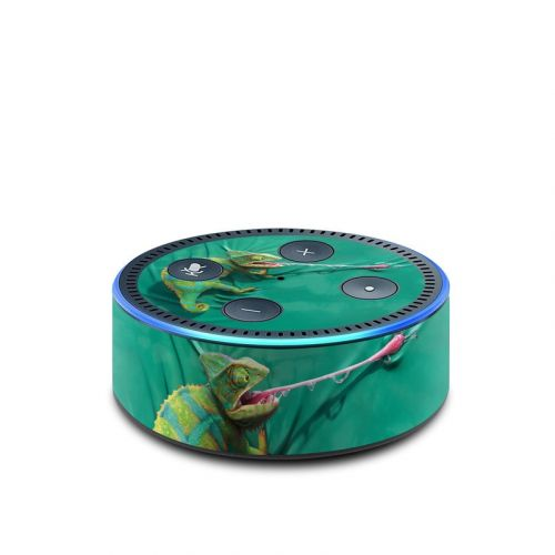 Iguana Amazon Echo Dot 2nd Gen Skin