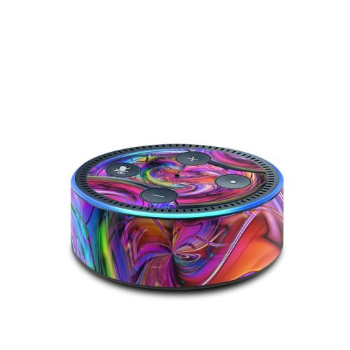 Marbles Amazon Echo Dot 2nd Gen Skin