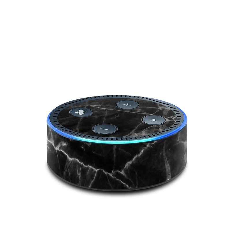 Black Marble Amazon Echo Dot 2nd Gen Skin