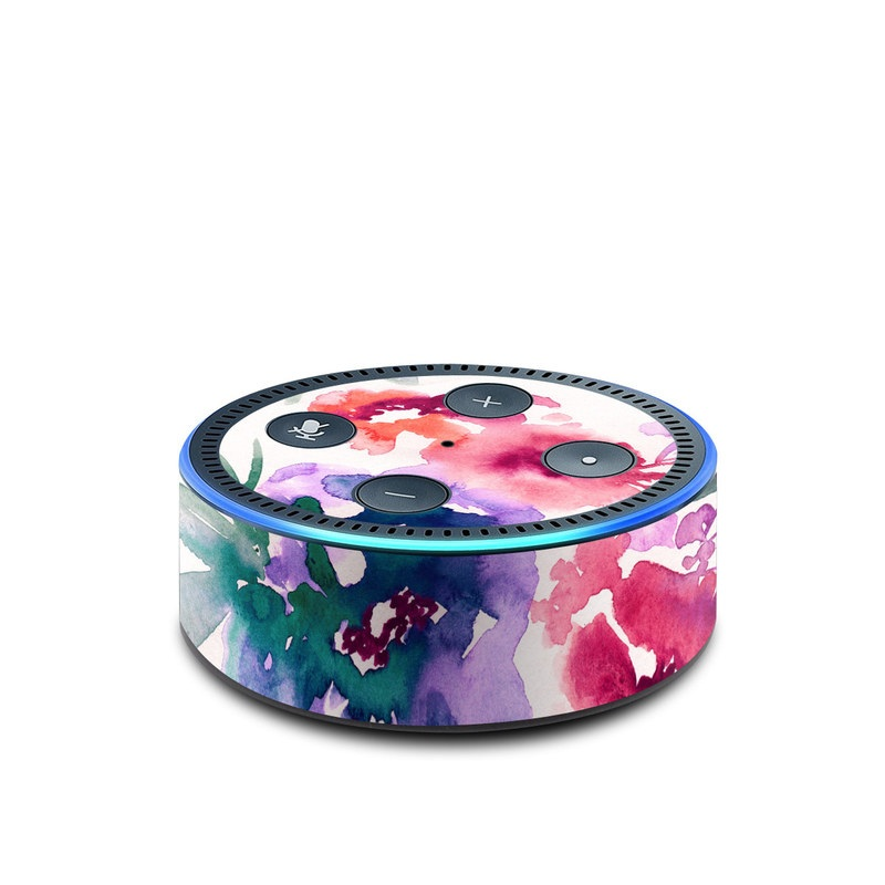 Skin Decal for Amazon Echo Dot 2nd gen // Pink Roses