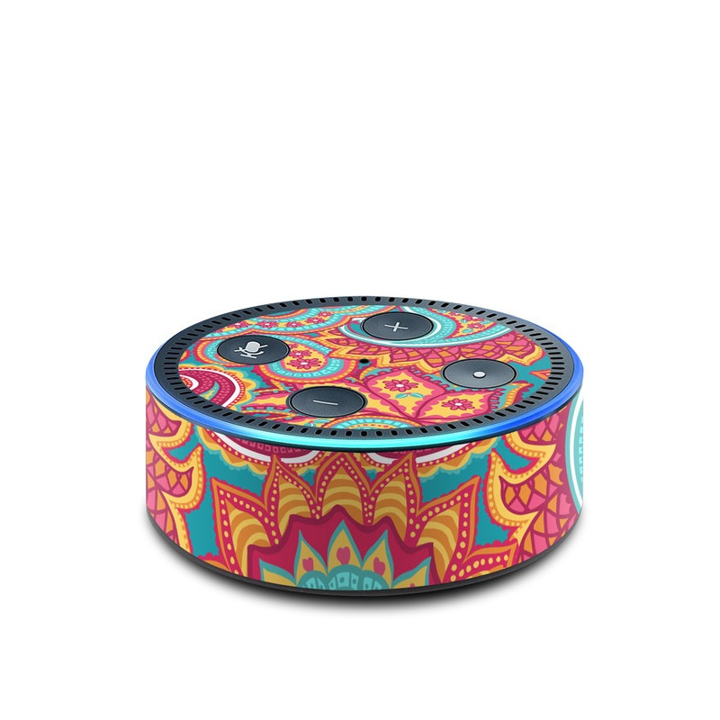 Carnival Paisley Amazon Echo Dot 2nd Gen Skin