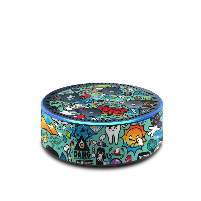 Jewel Thief Amazon Echo Dot 2nd Gen Skin