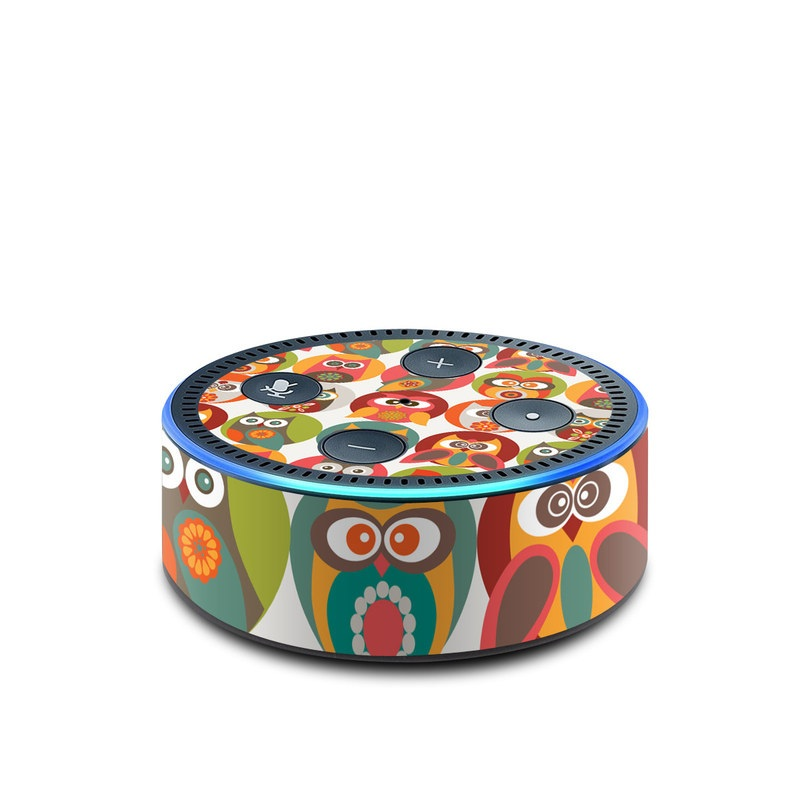 Owls Family Amazon Echo Dot 2nd Gen Skin