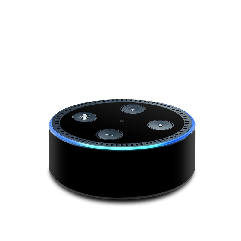 Amazon Echo Dot 2nd Gen Skin design of Black, Darkness, White, Sky, Light, Red, Text, Brown, Font, Atmosphere with black colors