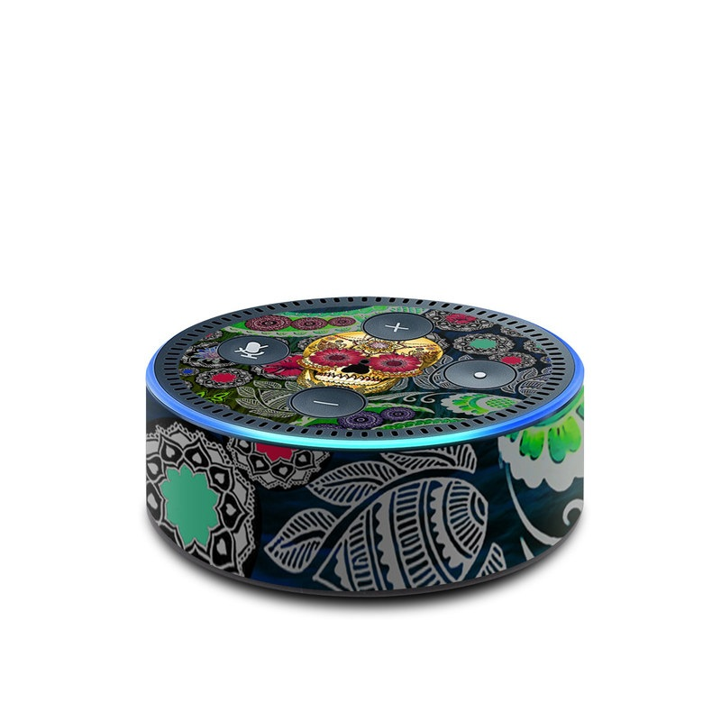 Sugar Skull Paisley Amazon Echo Dot 2nd Gen Skin