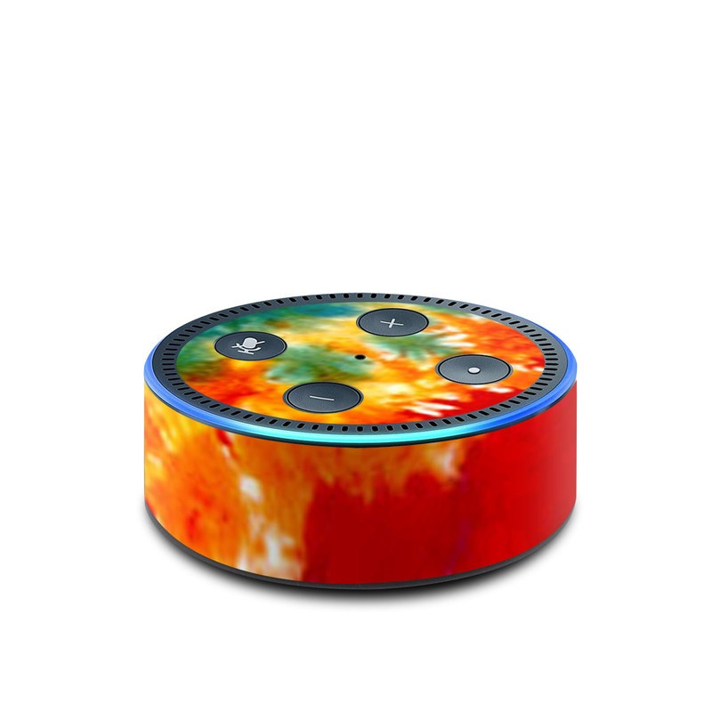 Tie Dyed Amazon Echo Dot 2nd Gen Skin