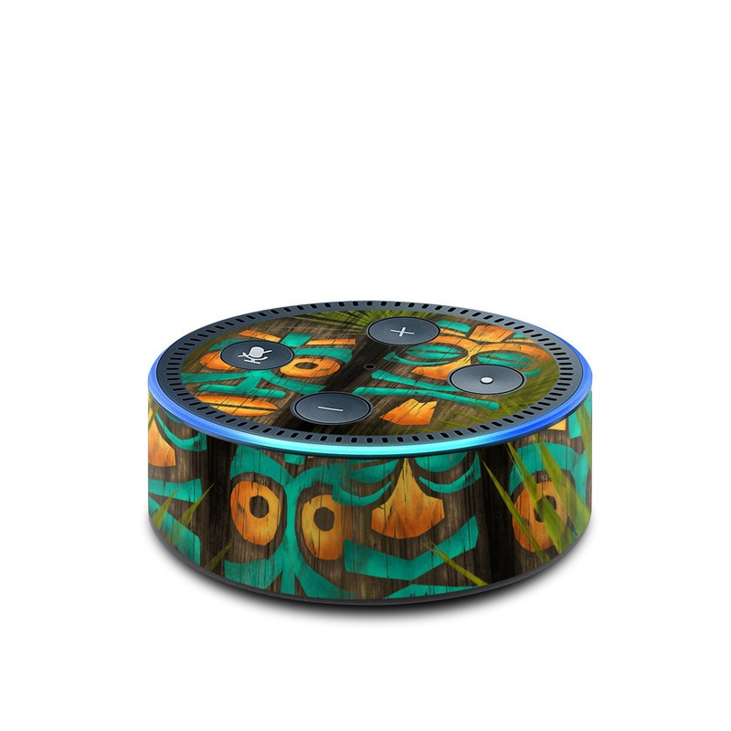 Tiki Abu Amazon Echo Dot 2nd Gen Skin