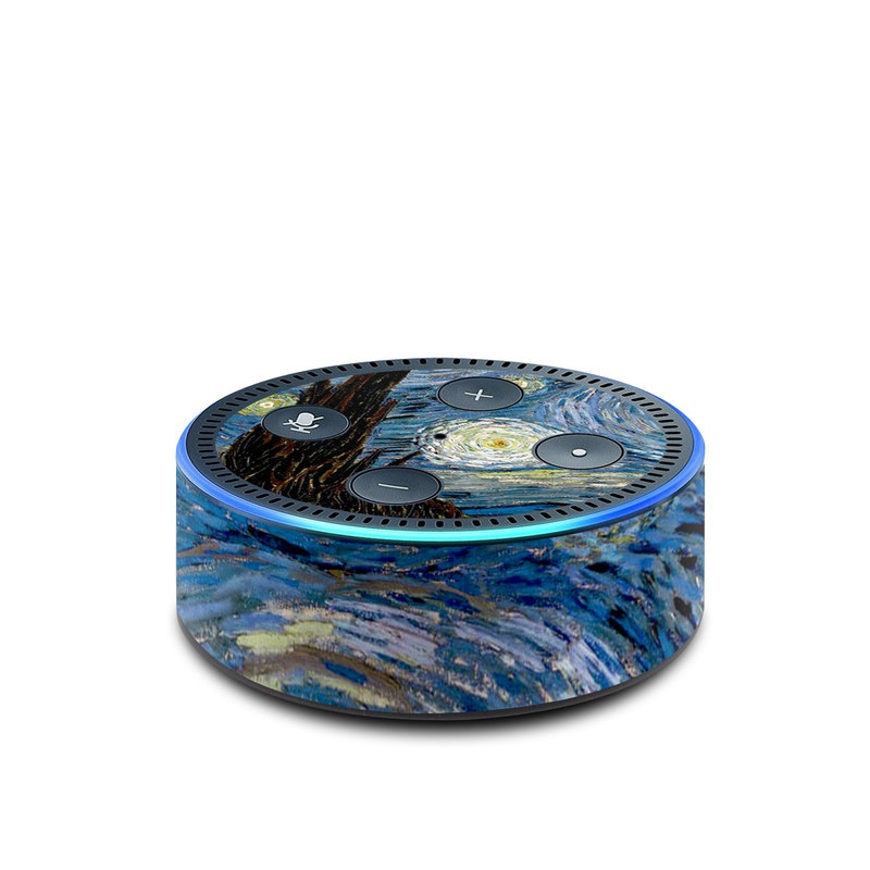 Starry Night Amazon Echo Dot 2nd Gen Skin
