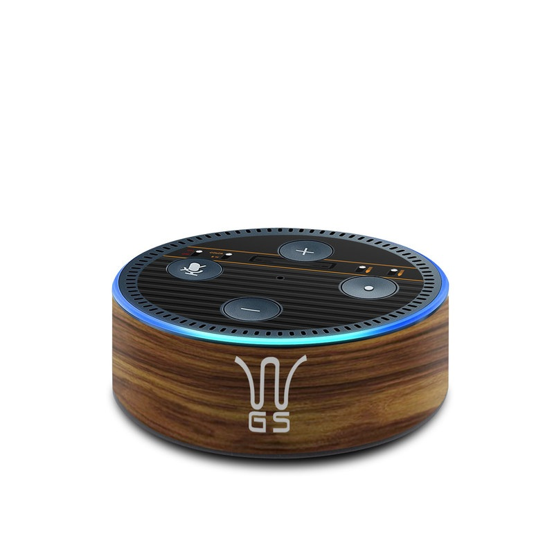 Amazon Echo Dot 2nd Gen Skin design of Guitar amplifier, Technology, Electronic instrument with black, red colors