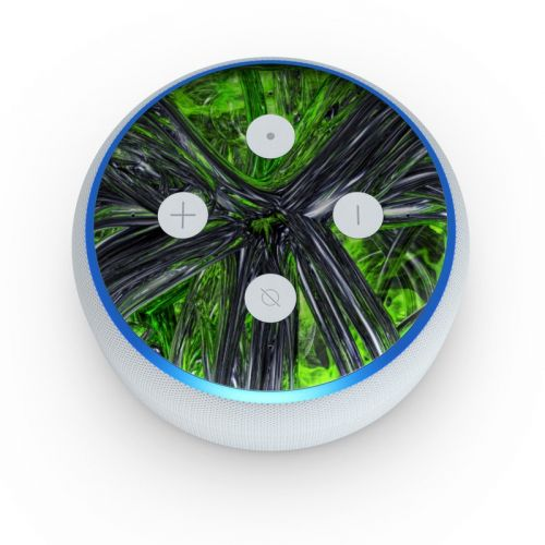 Emerald Abstract Amazon Echo Dot 3rd Gen Skin