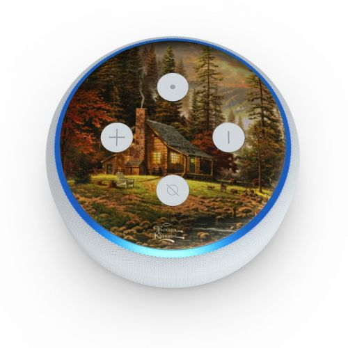 A Peaceful Retreat Amazon Echo Dot 3rd Gen Skin