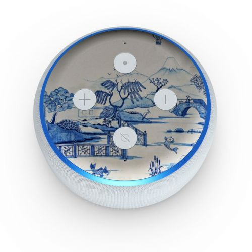 Blue Willow Amazon Echo Dot 3rd Gen Skin