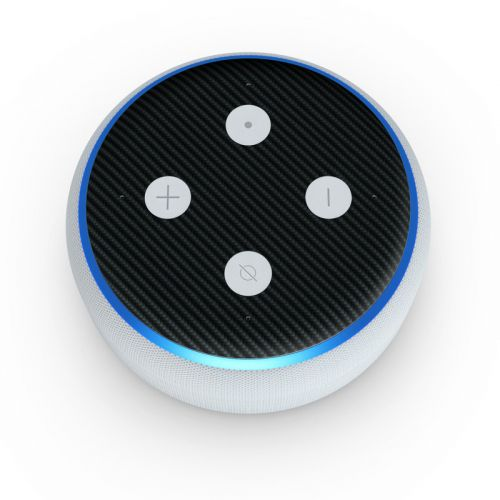 Carbon Amazon Echo Dot 3rd Gen Skin