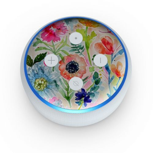 Loose Flowers Amazon Echo Dot 3rd Gen Skin