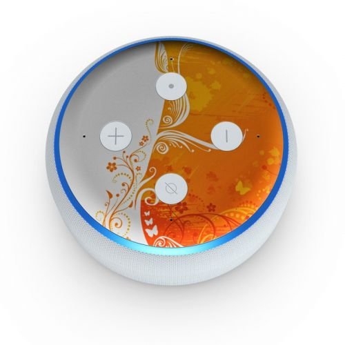 Orange Crush Amazon Echo Dot 3rd Gen Skin