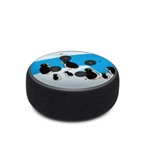 Penguins Amazon Echo Dot 3rd Gen Skin