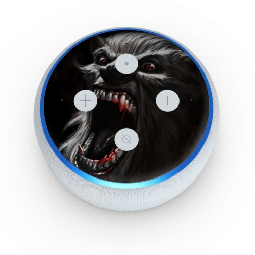 Wolfman Amazon Echo Dot 3rd Gen Skin
