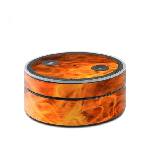 Combustion Amazon Echo Dot Skin