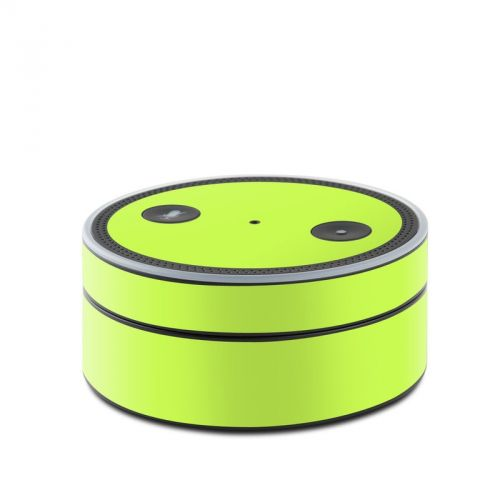 Solid State Lime Amazon Echo Dot Skin