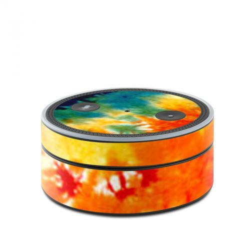 Tie Dyed Amazon Echo Dot Skin