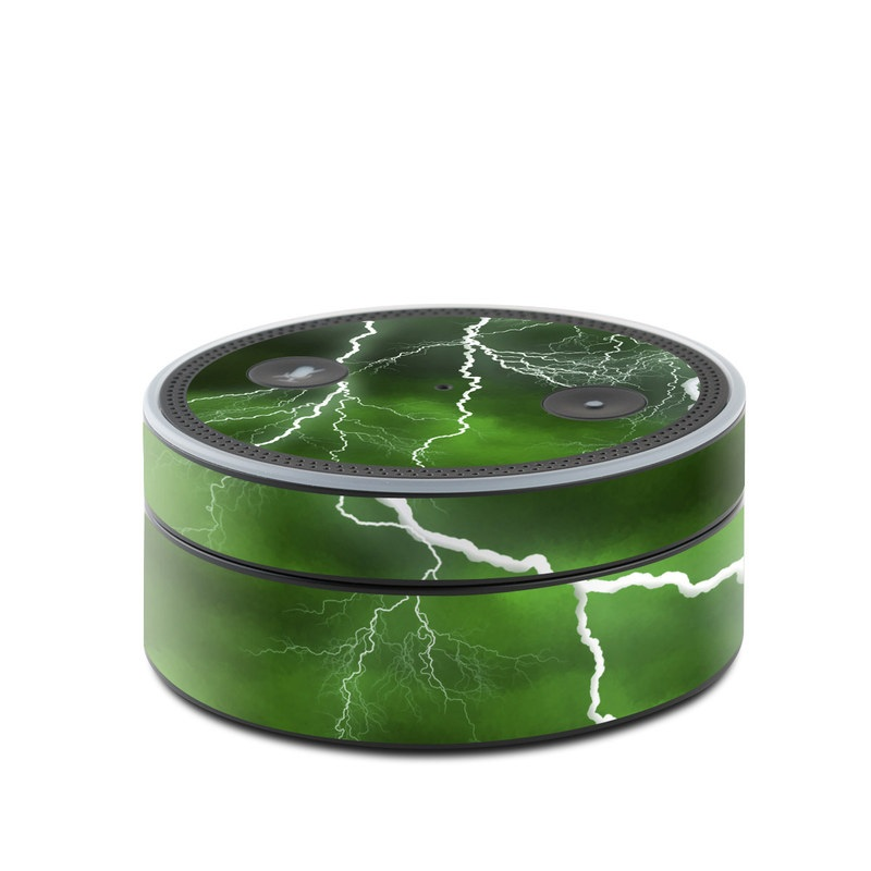 Apocalypse Green Amazon Echo Dot 1st Gen Skin