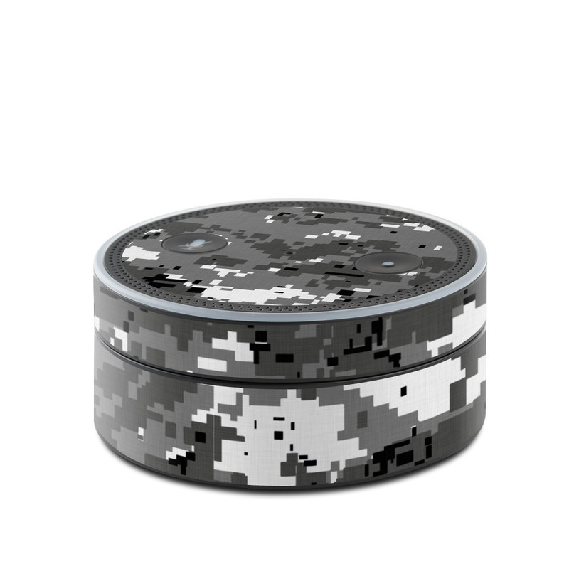 Digital Urban Camo Amazon Echo Dot 1st Gen Skin