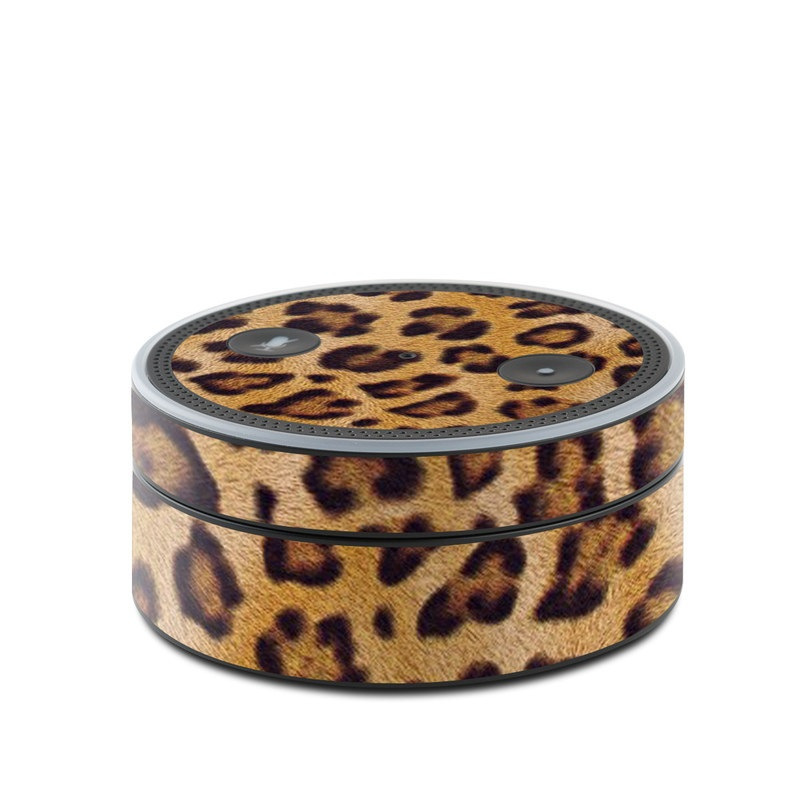 Leopard Spots Amazon Echo Dot Skin