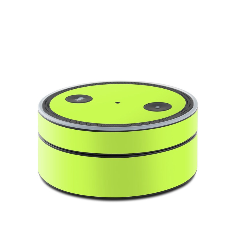 Solid State Lime Amazon Echo Dot 1st Gen Skin