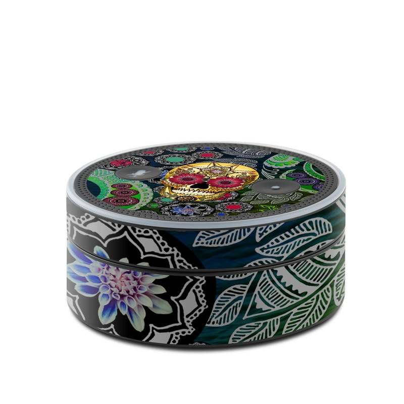 Sugar Skull Paisley Amazon Echo Dot 1st Gen Skin