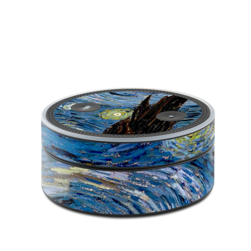 Starry Night Amazon Echo Dot Skin