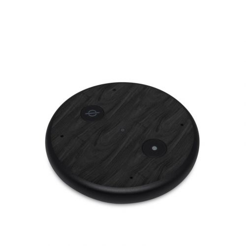Black Woodgrain Amazon Echo Input Skin