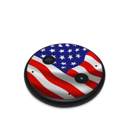 USA Flag Amazon Echo Input Skin