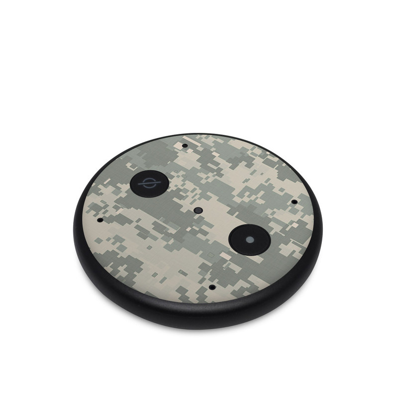 Amazon Echo Input Skin design of Military camouflage, Green, Pattern, Uniform, Camouflage, Design, Wallpaper with gray, green colors